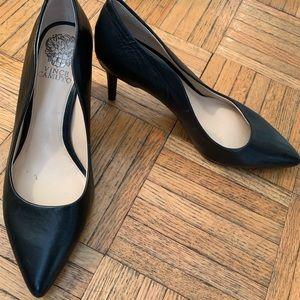 Vince Camuto Black Heels Size 7.5M/38